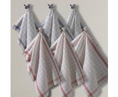 Torchons métis lin-coton COLAS, lot de 6 - LA REDOUTE INTERIEURS