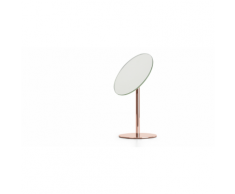 Lilo, miroir sur socle pour salle de bain, cuivre