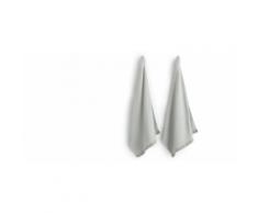 MADE Essentials - Zyra, lot de 2 torchons, gris clair