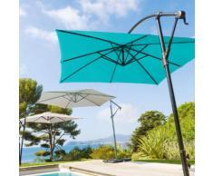 Parasol déporté Hawai Lagon Jardin