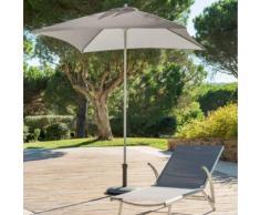 Parasol droit carré Anzio Taupe Jardin