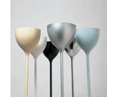 DRINK-Lampadaire LED Métal avec Variateur Ø16cm H180cm gris métallisé Rotaliana - designé par Giovanni Lauda & Dante Donegani