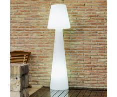 LOLA-Lampadaire d'extérieur avec câble H110cm Blanc New Garden