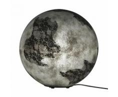 ULULA-Lampe de sol Ø45cm gris Karman - designé par Matteo Ugolini