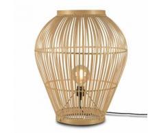 TUVALU-Lampe de sol Bambou H70cm naturel Good & Mojo