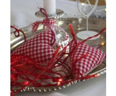 """LED WIRE-Guirlande 15 LED pile L2,6m Rouge Xmas Living Glass"""