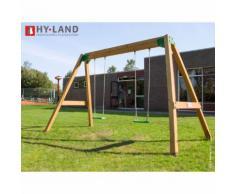 Portique en bois Hy-Land - 2 enfants