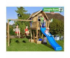 Maisonnette en bois sur pilotis Jungle Gym MAGARÖ - 9 enfants