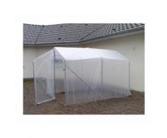 Serre de jardin NOTUS 2 portes - 4,5 x 2 m
