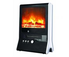 Chauffage appoint Cheminée électrique Niklas TV 2000W effet flamme vive 2 positions