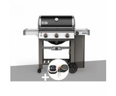 Barbecue gaz Weber Genesis II E-310 GBS Noir + Thermomètre IGrill 3