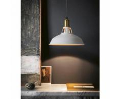 Suspension Vintage Industrielle Lampe de Plafonniers LED Retro Métal Lustre avec Abat-jour