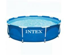Piscine tubulaire metal frame intex ronde Ø 4.57 x 1.22 m