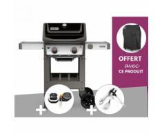 Barbecue gaz Weber Spirit II E-210 GBS + Thermomètre IGrill 3 + Kit Ustensile + Housse OFFERTE