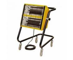 Radiateur chauffage infrarouge électrique 1,5-3,0 kW jaune bricolage atelier chantier