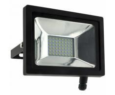 Projecteur LED 20W Noir - IP65