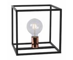 Lampe industrielle Lucide Arthur Noir Métal 08524/01/30