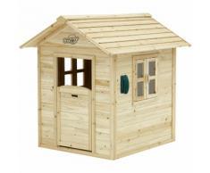 Noa Playhouse: Maisonnette pour enfants, fenêtres intégrées et bois très résistant