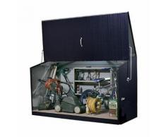 Trimetals - Coffre de rangement anthracite en métal 1,96x0,89x1,13 m - STOREGARD_ANTHRACITE