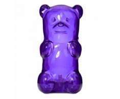 Veilleuse Nournours caoutchouc violet 19 x 9 cm Violet Mox Studio