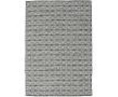 Noué à la main. Origine: India Tapis Kilim Long Stitch - Noir / Gris 160x230 Tapis Moderne