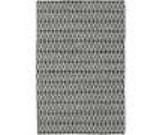 Noué à la main. Origine: India Tapis Kilim Long Stitch - Long Stitch Noir / Gris 120x180 Tapis Moderne
