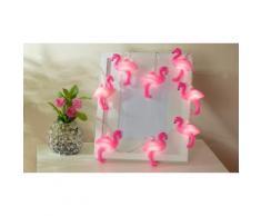 Guirlande lumineuse Flamants roses : 1 / avec 4 piles AA