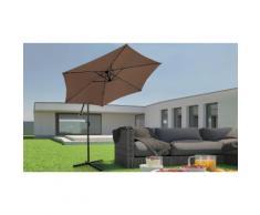 Parasol de jardin Miadomodo : Marron