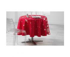 Nappe de table Constellation imprimé argent : Ronde / 180 cm / rouge