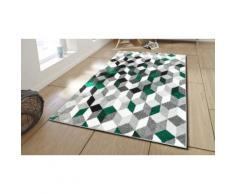 Tapis pour salon : 80 x 150 cm / Vert