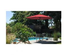 Parasol : Fixe inclinable 270 cm / Corail