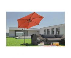 Parasol de jardin Miadomodo : Terracotta
