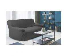 Housse fauteuil canapé : 3 places / 1 / Gris