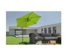 Parasol de jardin Miadomodo : Vert citron