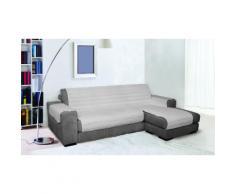 CDDX- Housse pour canapé : gris / 190