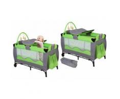 Lit de voyage pour bébé : vert