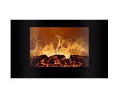 Cheminée électrique avec simulation de flamme et chauffage Bomann : 6020 CB
