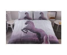 Parures de lit animales en polycoton : Double / Magical Unicorn