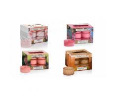 4 paquets de 12 bougies chauffe-plat Yankee Candle