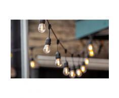 Guirlande Lumineuse Solaire avec 10 ampoules LED 6 mètres : 1