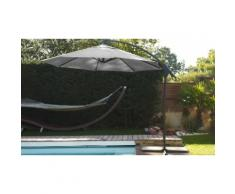 Parasol : Fixe inclinable / Gris / 270 cm