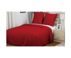 Couvre-lit pour un lit de 2 personnes: Rouge
