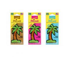 Assainisseurs palmier automobiles : Capistrano Coconut + Coronado Cherry + Laguna Breeze / 3