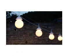 Guirlande lumineuse : 4 Globes à LED / 1