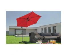 Parasol de jardin Miadomodo : Rouge