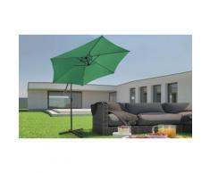 Parasol de jardin Miadomodo : Vert