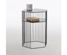 Chevet métal filaire, Topim . Noir La Redoute Interieurs