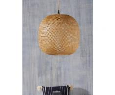 Suspension boule en bambou Marron Cyrillus