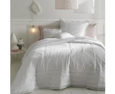 La Redoute Interieurs - Couvre-lit matelassé et brodé en coton OYENA . Blanc La Redoute Interieurs
