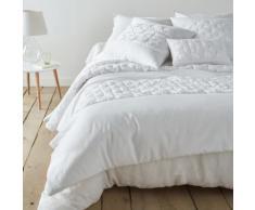 La Redoute Interieurs - Couvre-lit en satin de coton KHIN . Blanc La Redoute Interieurs